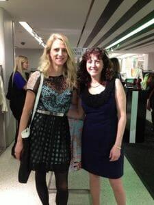 Nanette Lepore & Hilary Topper