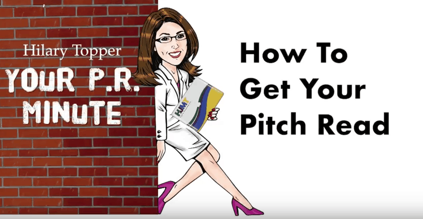 how toget your pitch read