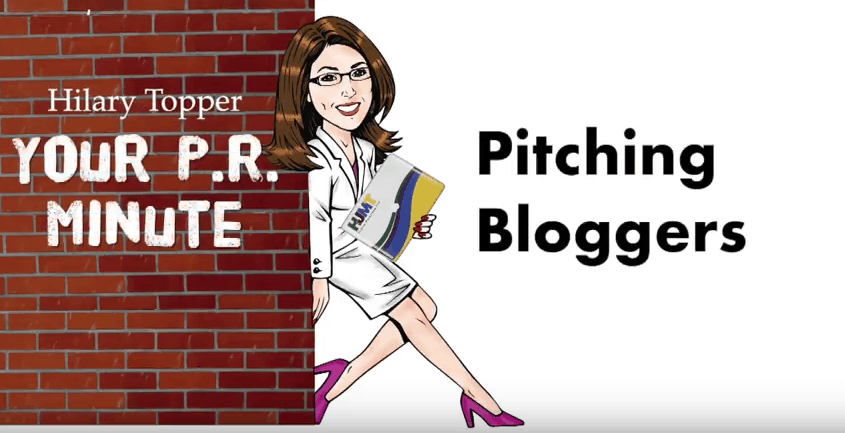 pitching bloggers