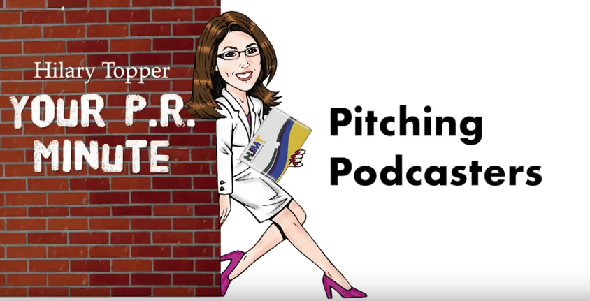 pitching podcasters