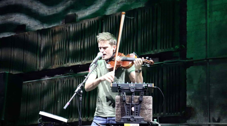AJ Smith on Violin
