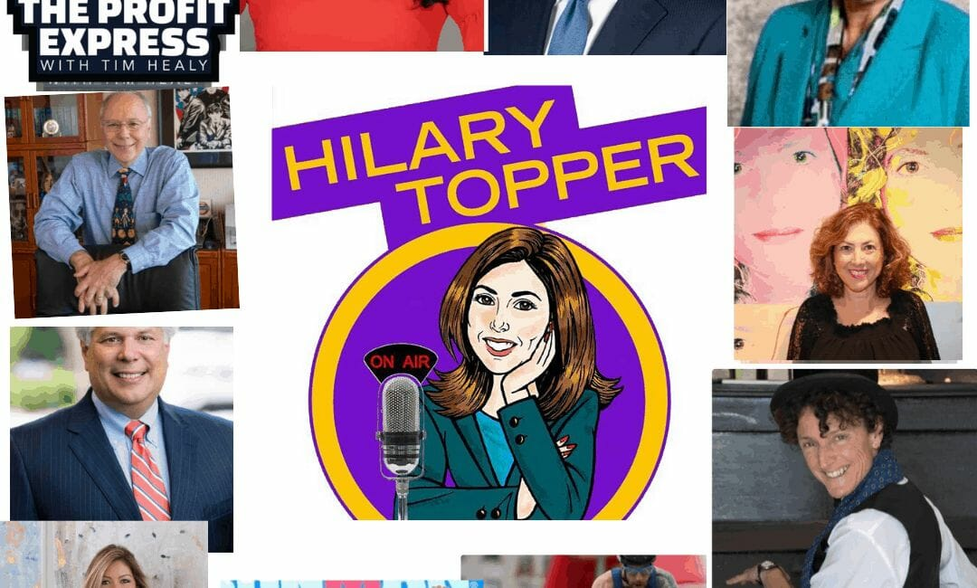 Hilary Topper on Air guests