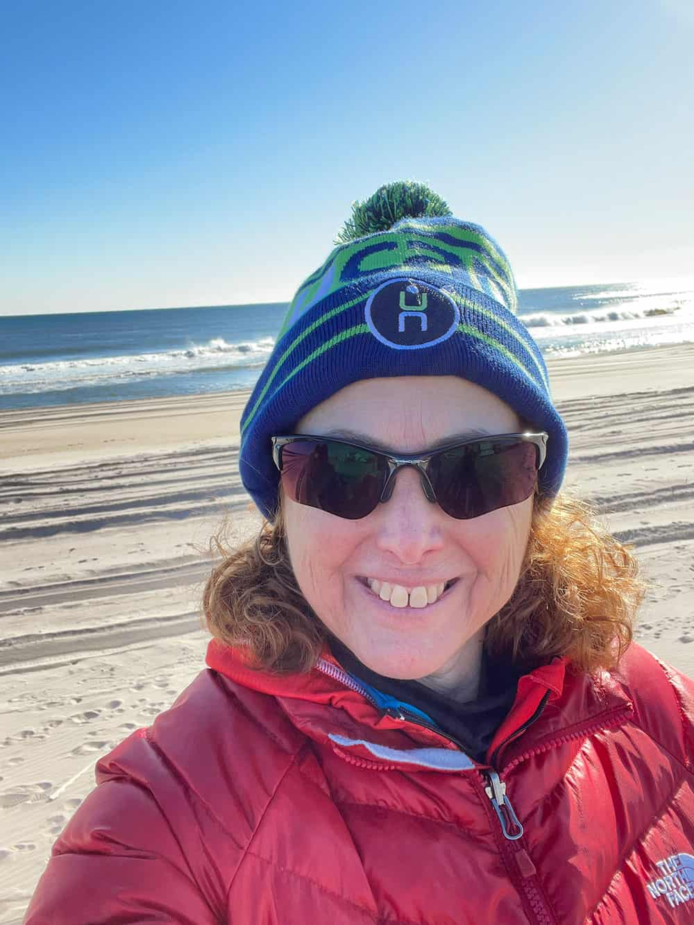 Hilary Topper at Fire Island