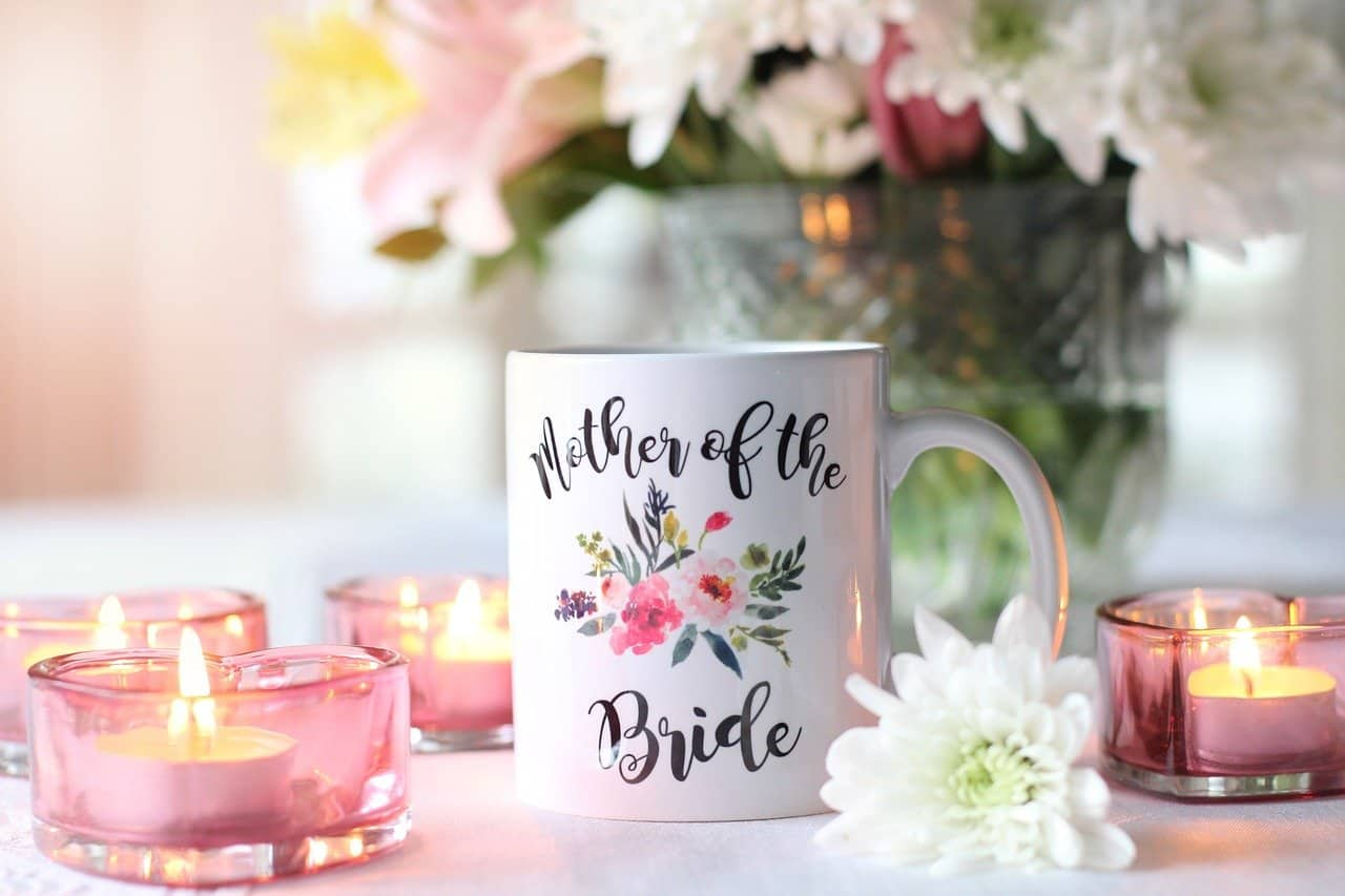 mother of the bride cup