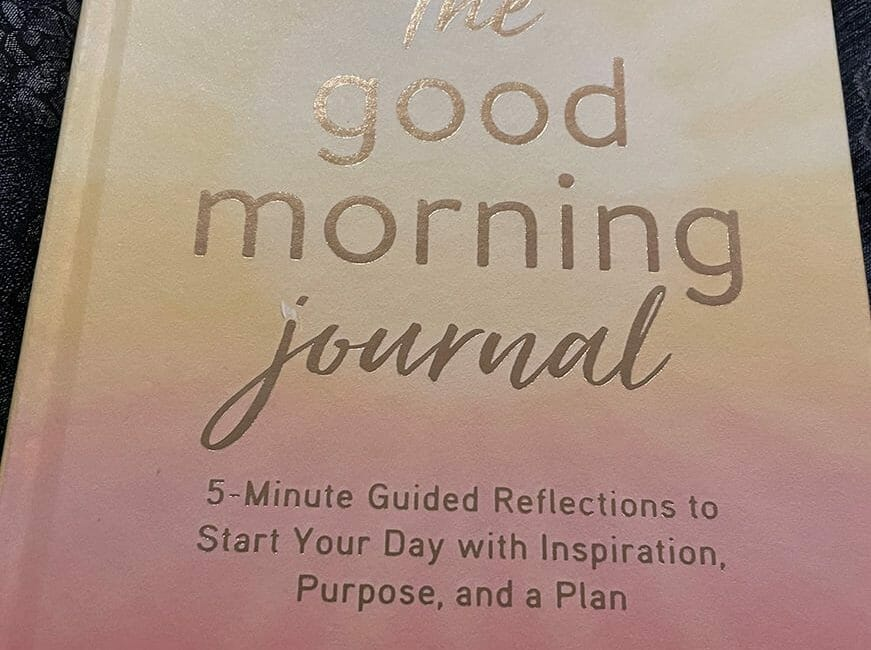 Good Morning book