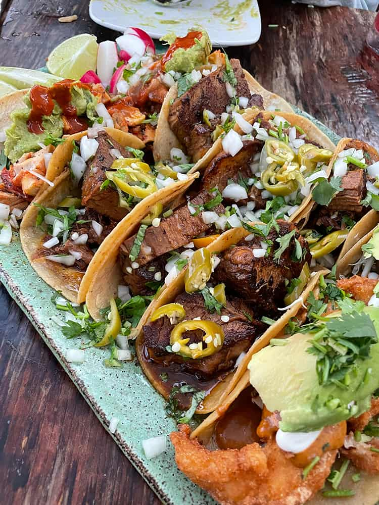 Tacos from Verde Kitchen
