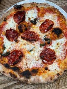 pizza at Robertas