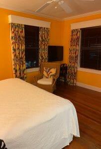 Colony hotel bedroom