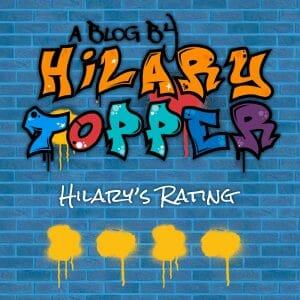 Hilary's 4 star rating