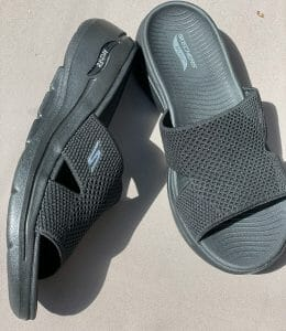 side view of the Skechers GoWalk Arch Fit