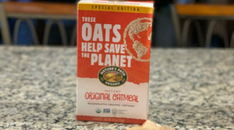 Nature's Path Regenerative Organic Oatmeal